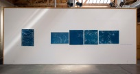 Installation view, Sweeping Close, San Diego Space 4 Art, 2015.