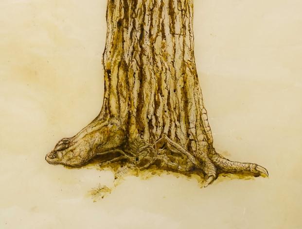 Detail, Baba Yaga Blind.
